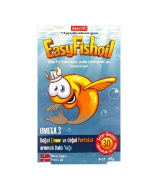 Easy Fish Oil 30 Çiğneme Tablet