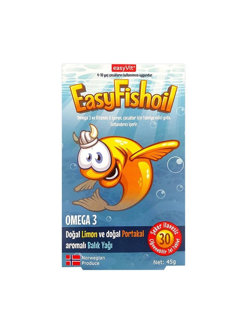 Easy Fish Oil 30 Çiğneme Tablet
