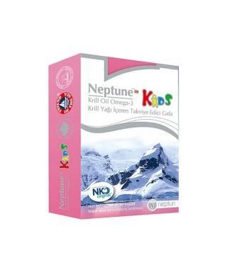 Neptune Krill Oil Kids 40 Kapsül