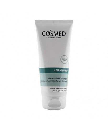 Cosmed Hair Guard Anti-Hair Loss Shampoo Yenilemeye Yardımcı Şampuan 200 ml