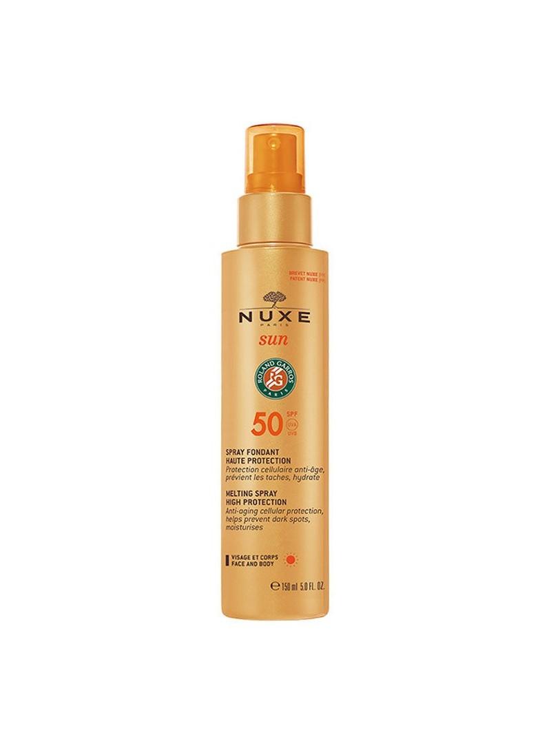 Nuxe Güneş Koruyucu Yüz ve Vücut Sütü Spf50 150ml