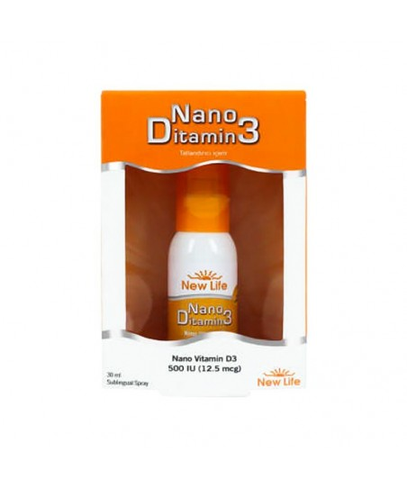 New Life Nano Ditamin3 - D Vitamini 30ml