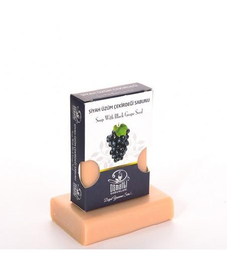 Osmanlı Sabunları Siyah Üzüm Çekirdeği Sabunu 100gr