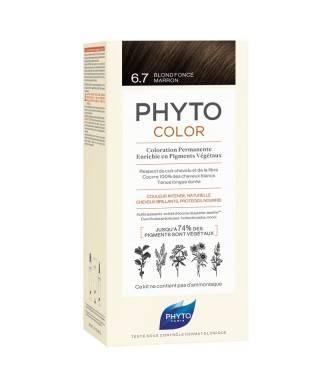 Phyto Phytocolor Bitkisel Saç Boyası - 6.7 Çikolata Kahve Yeni Formül