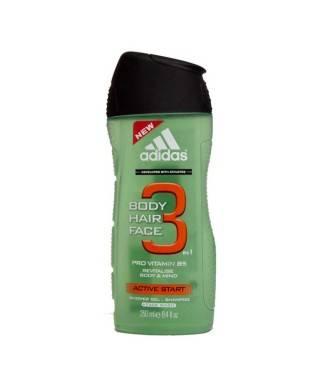 Adidas Shower Gel Men H&B Active Start 250 ml