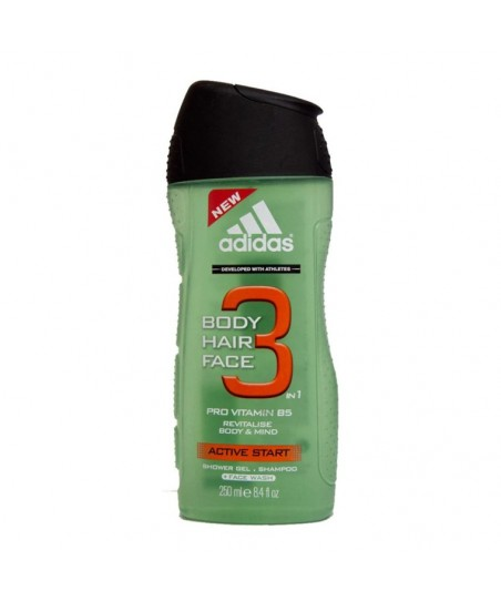 Adidas Shower Gel Men H&B Active Start 250 ml