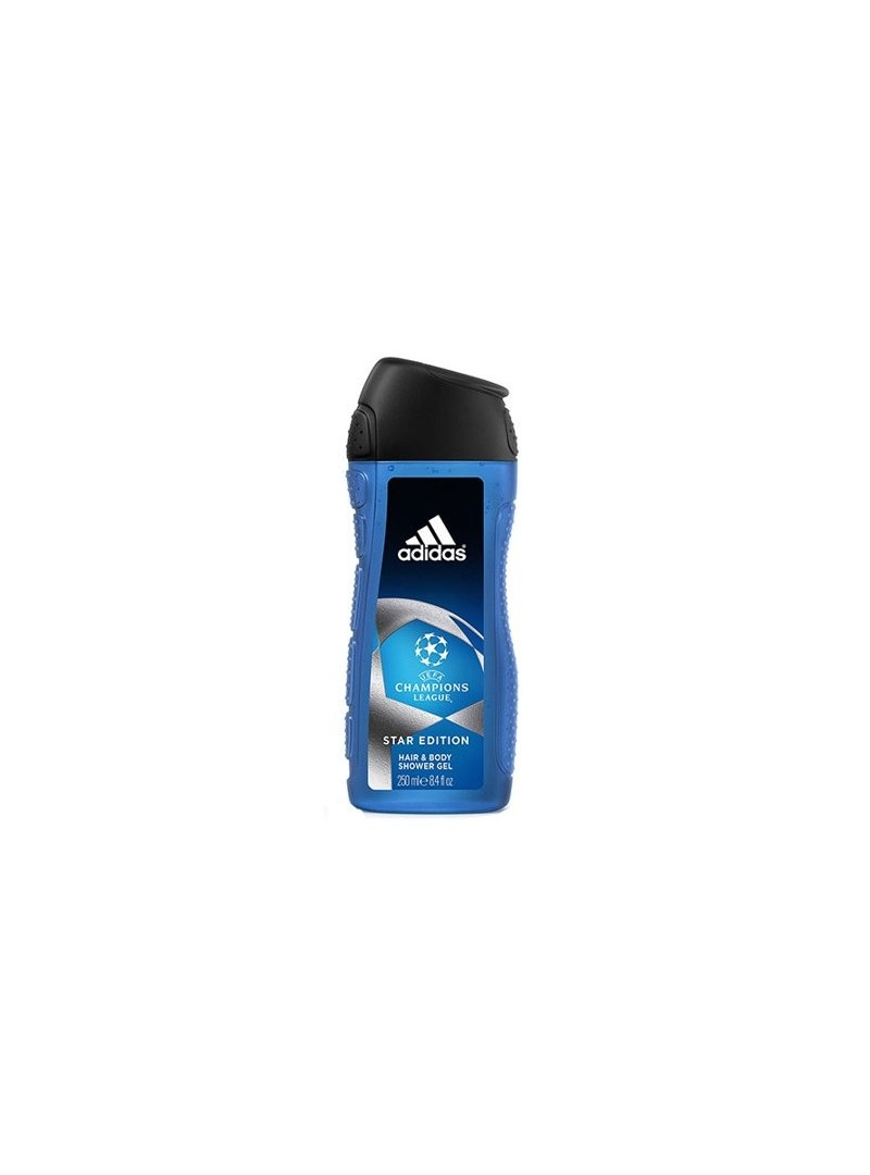 Adidas Uefa Champions Star Edition Hair Body Shower Gel 250 ml