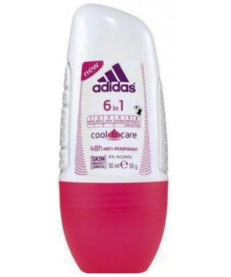 Adidas Roll On Women 6 in 1 50 ml
