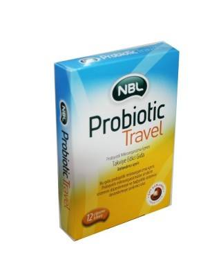 NBL Probiotic Travel 12 Çiğneme Tableti