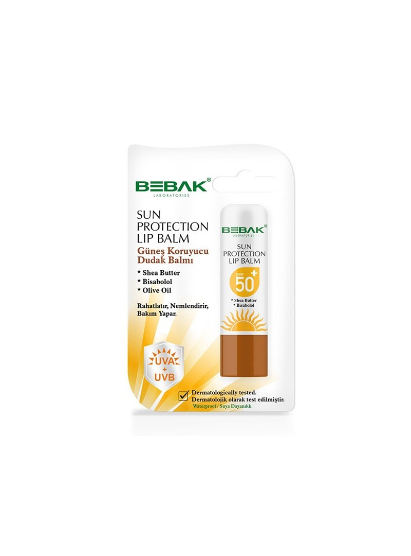 Bebak Sun Protection Lip Balm Spf 50 4.5 gr