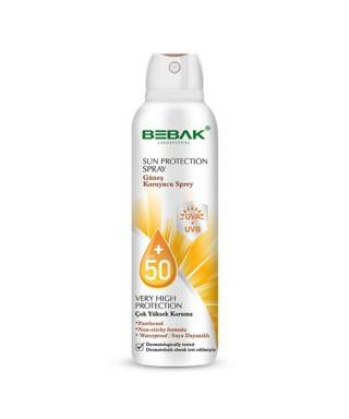 Bebak Güneş Koruyucu Sprey SPF 50+ 150 ml