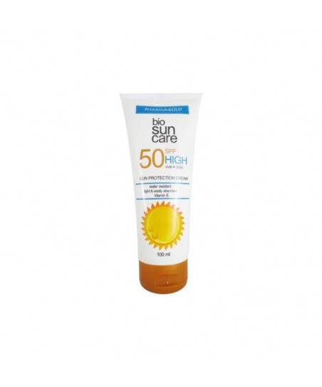 Pharma Gold Bio Suncare Sun Protection Cream Spf 50 100 ml