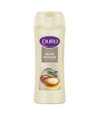 Duru Argan Yağı ve Kil Duş Jeli 450ml