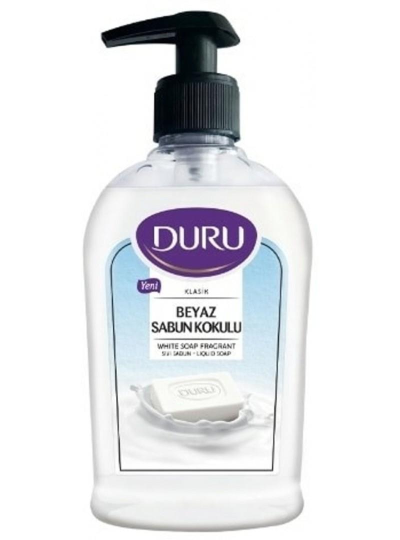 Duru Klasik Beyaz Sabun Kokulu Sıvı Sabun 300ml