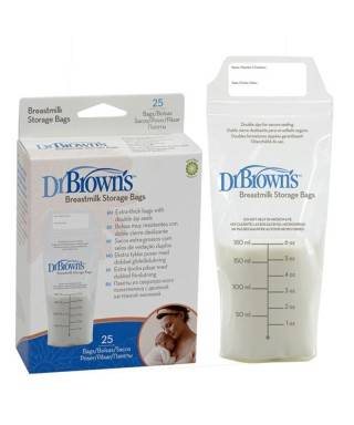 Dr.Browns Süt Saklama Poşeti 25 Adet