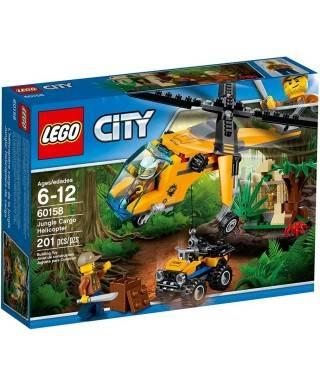 Lego City Orman Kargo Helikopteri 60158 Turuncu
