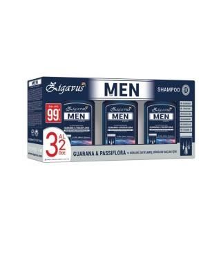 Zigavus Erkekler İçin Saç Dökülme Karşıtı Şampuan 300 ml 3 Al 2 Öde