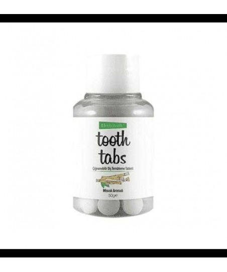 Herbatech Tooth Tabs Misvak Diş Temizleme Tableti 90 Adet