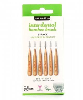 Humble Brush Bambu Diş Arası Fırçası 0.80mm 6 Adet