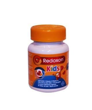 Redoxon Kids Çiğnenebilir Takviye Edici Gıda 60 Adet