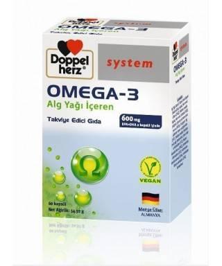 Doppel Herz Omega-3 60 Kapsül