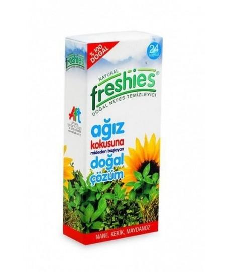 Natural Freshies Ağız Kokusu Önleyici 24 Adet