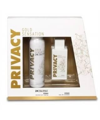 Privacy Gold Bayan Parfüm 100ml + Deodorant 150ml Kofre