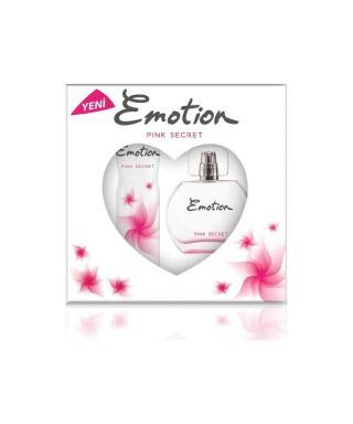 Emotion Pink Secret Bayan Parfüm 50 ml + Deodorant 150ml Set