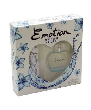 Emotion Ocean Fresh Bayan Parfüm 50 ml + Deodorant 150ml Set