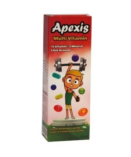 Apexis Multi Vitamin Şurup 150 ml