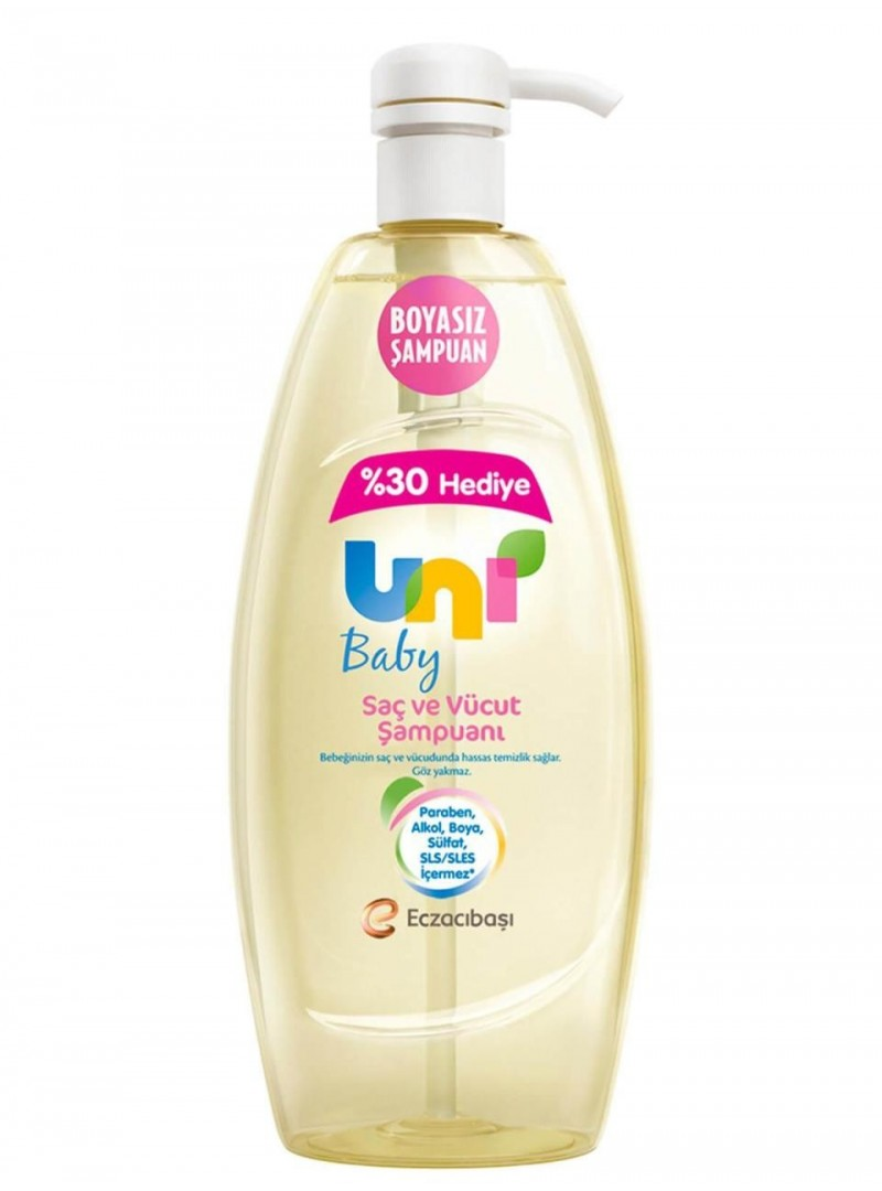 Uni Baby Saç ve Vücut Şampuanı 900ml