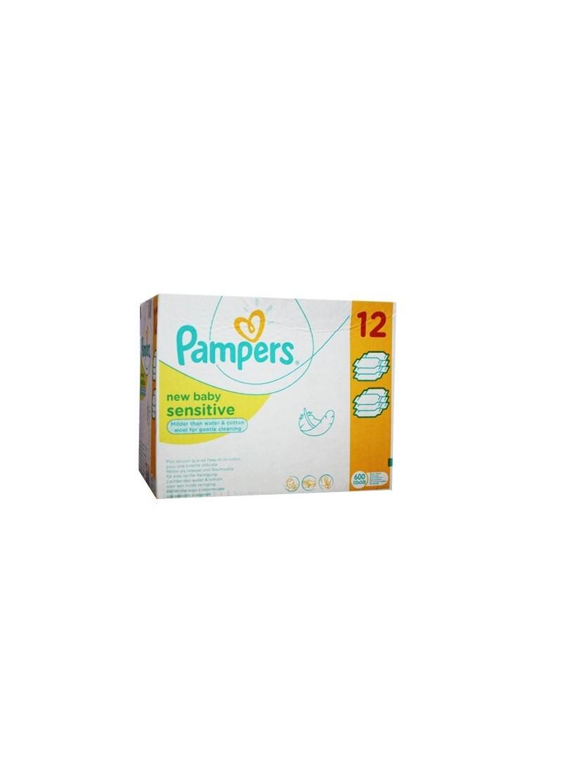 Pampers Baby Islak Havlu Yenidoğan Sensitive 50li 12 Paket