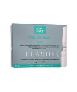 Martiderm Flash Ampules 2ml x 5 -Nemlendirici-Aydınlatıcı Ampül Tüm Cilt Tipleri İçin