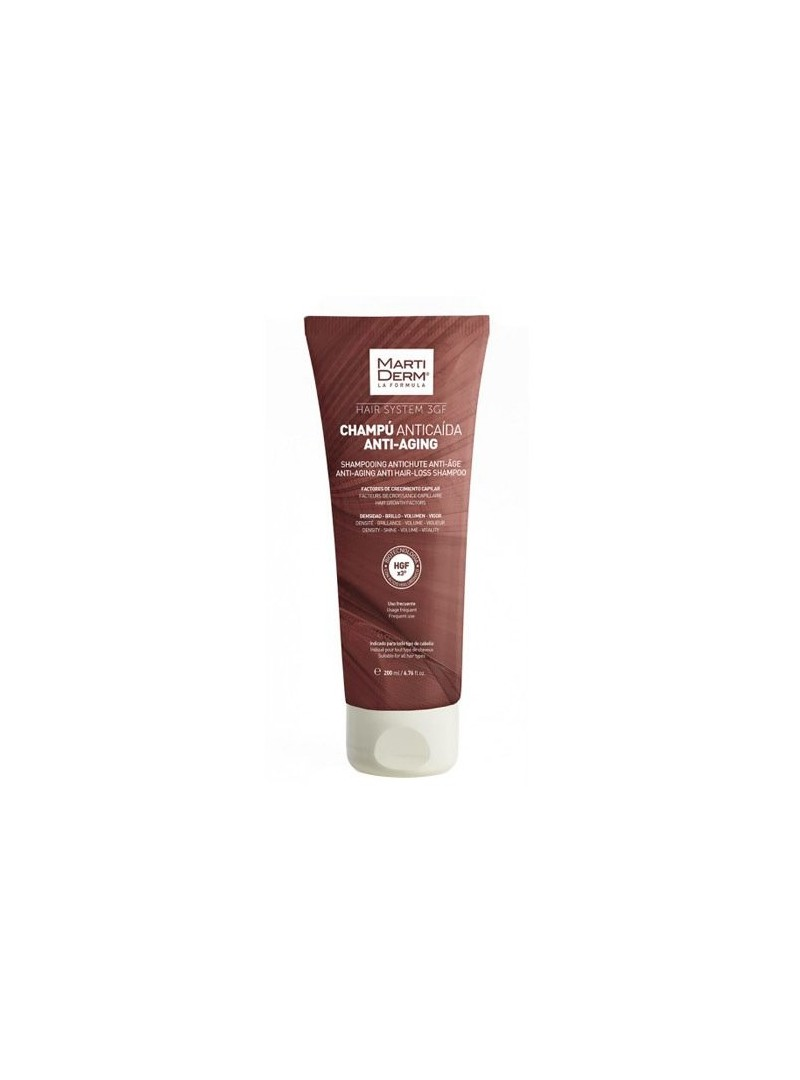 Martiderm Hair System Anti Aging Saç Dökülmesini Önlemeye Yardımcı Şampuan 200 ml