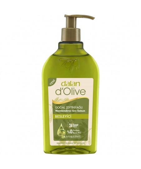 Dalan D Olive Doğal Zeytinyağlı Nemlendirici Besleyici Sıvı Sabun 300 ml