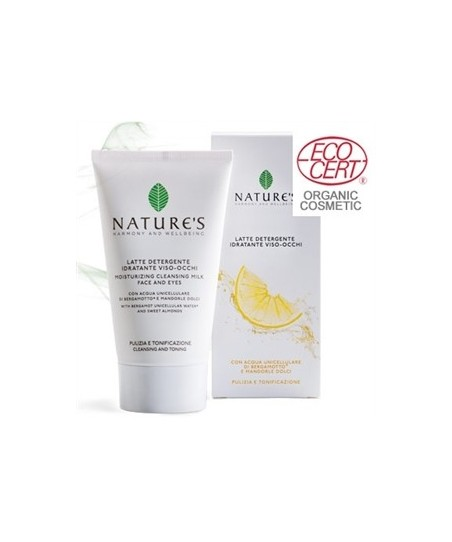 Natures Acque Moisturizing Cleansing Milk Face and Eyes 150 ml
