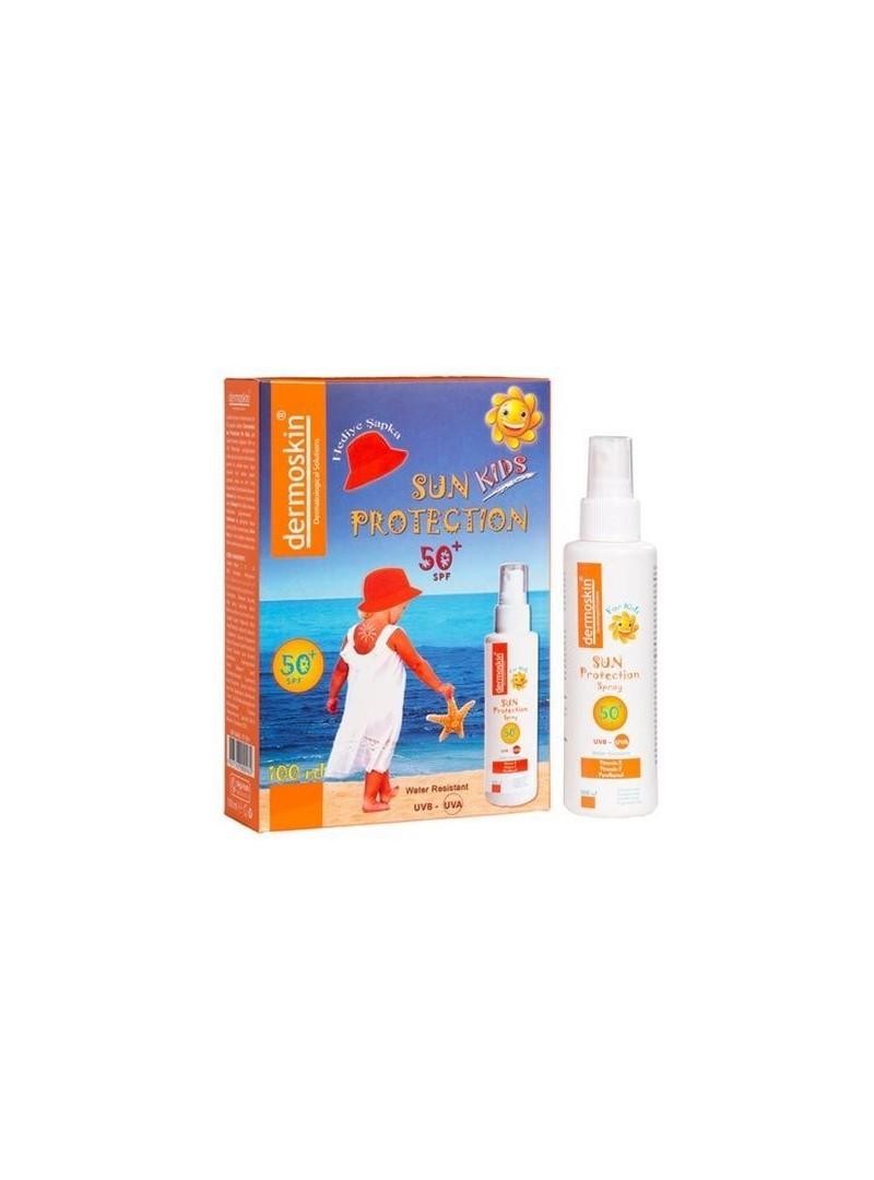 Dermoskin Sun Protection Kids SPF50+ Spray 100ml - Şapka Hediyeli