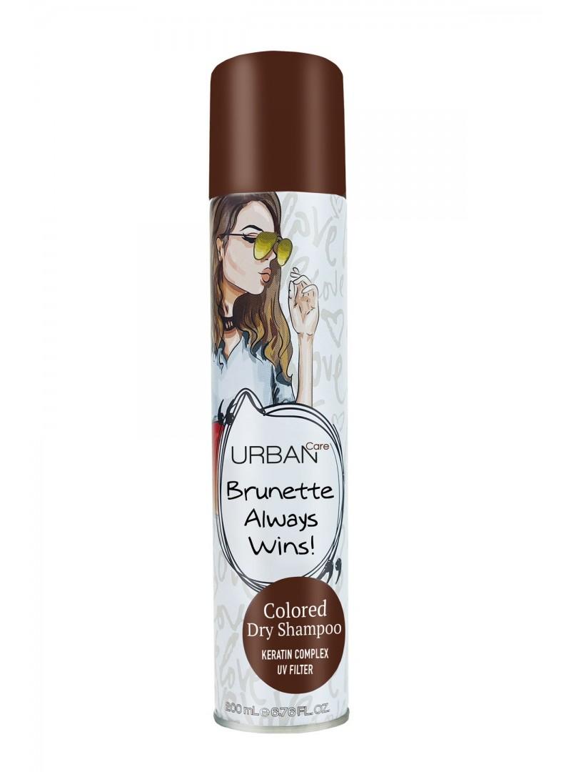 Urban Care Kahve ve Kızıl Saçlar için Kapatıcı Etki Veren Kuru Şampuan 200 ml-Tüm Saç Tipi