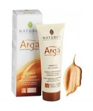 Natures Arga Minerale CC Cream Spf15 50ml