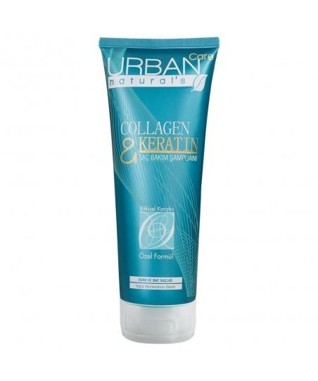 Urban Care Collagen&Keratin Saç Bakım Şampuanı 250 ml - Kuru, Mat ve İnce Telli Saçlar