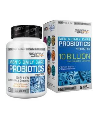 Bigjoy Vitamins Mens Daily Care Probiotics For Mens 30 Kapsül