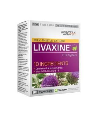 Bigjoy Vitamins Livaxine DTX System 60 Kapsül
