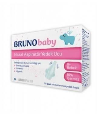 Bruno Baby Nazal Aspiratör Yedek Uç 10'lu