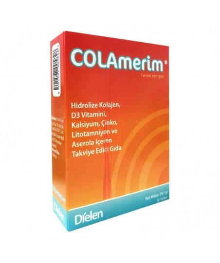 Dielen Colamerim Takviye Edici Gıda 30 Tablet