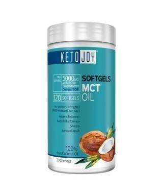 Ketojoy MCT Oil 5000mg 120 Soft Gel Kapsül