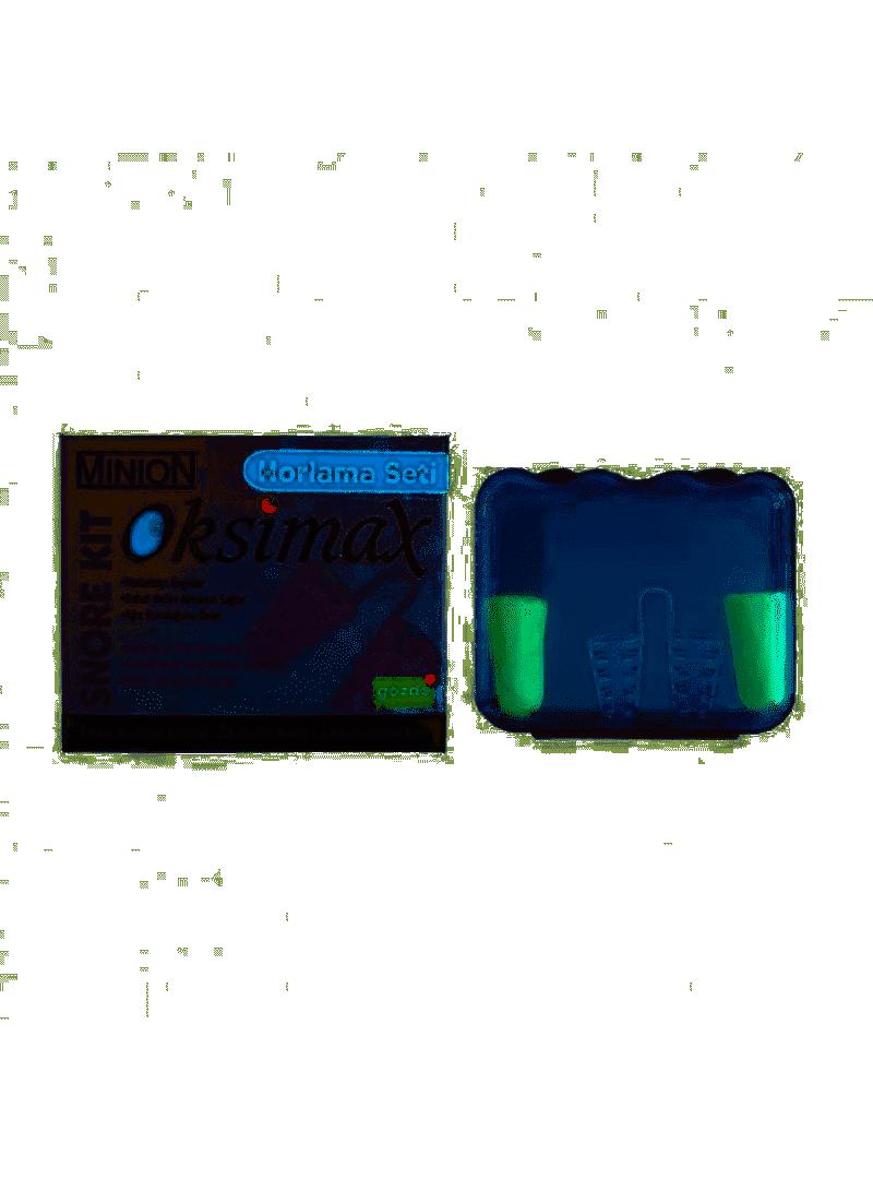 Minion Oksimax Horlama Önleyici Burun Aparatı Seti