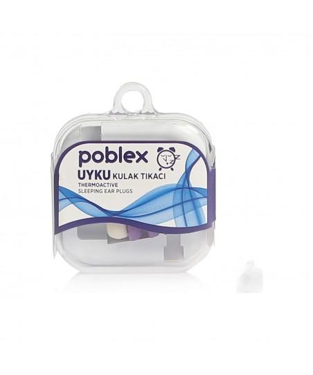 Poblex Uyku Kulak Tıkacı Thermoactive 1 Çift (2 Adet) Kutulu