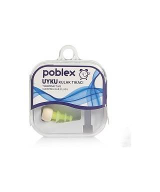 Poblex Uyku Kulak Tıkacı Thermoactive 1 Çift ( Beden:S ) Kutulu