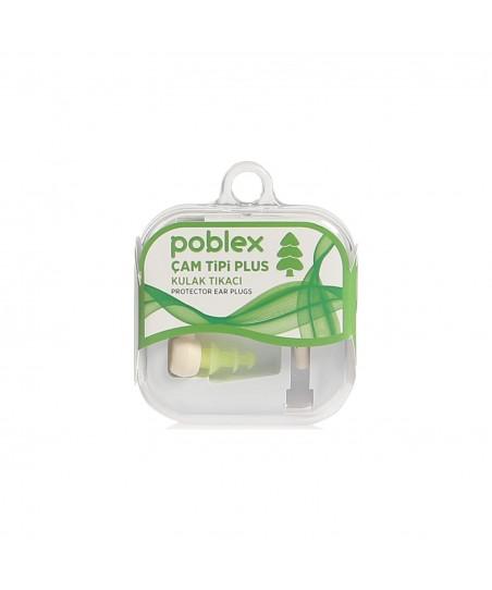 Poblex Çam Tipi Plus Kulak Tıkacı 1 Çift ( Beden:S ) Kutulu