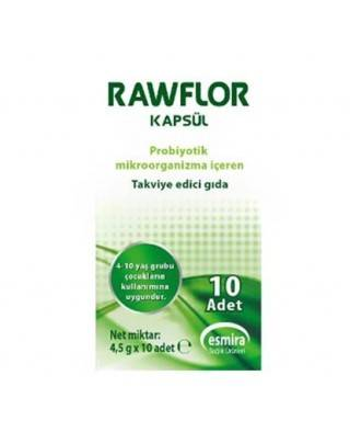 Rawflor 10 Kapsül